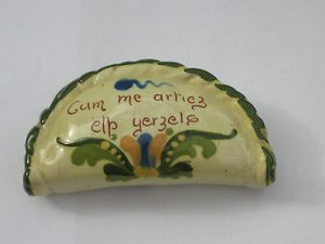 Vintage Torquay Devon Mottoware Cornish Pasty